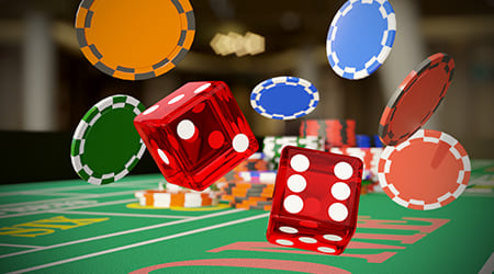 Craps is one of the most exciting games on the land-based casino floor