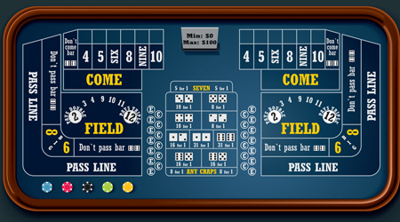 Online Craps playing the game