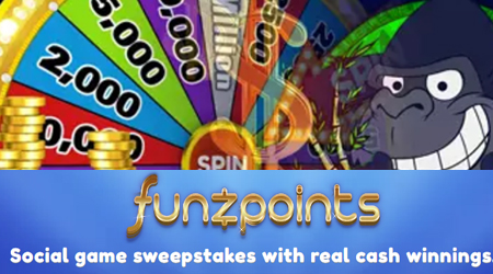Funzpoints casino is fully legal in USA