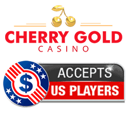 Players from US are accepted at Cherry Gold Casino