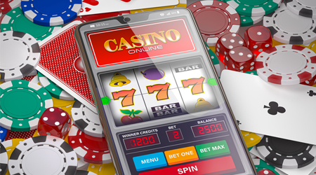 With you mobile phone you can play casino games when you want