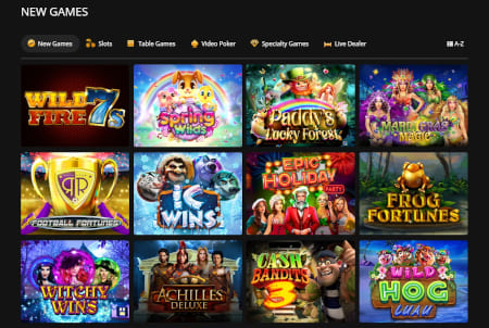Cherry Gold Casino Featured Games