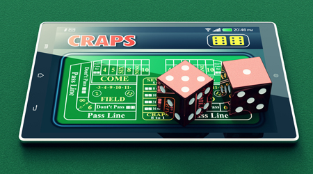 You can even play craps games on you mobile device