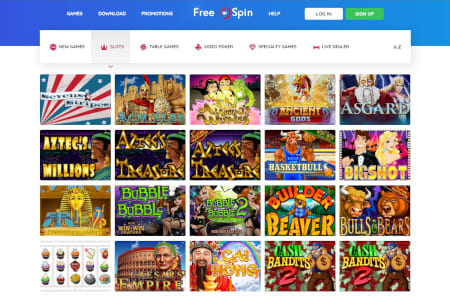 Free Spin Casino slot games