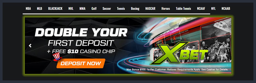 XBet Sportsbook Review Banner
