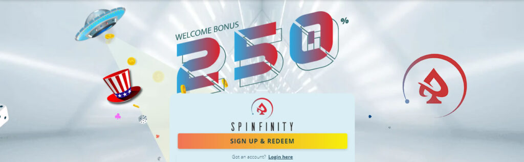 Spinfinity Casino Review